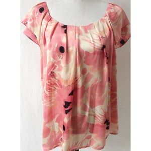 Tops - Pink & Black Top Size 2X